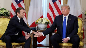 'One of the greatest non-answers I've ever heard': Trump roasts Macron after joking he's a 'great politician'