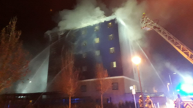 100 London firefighters deployed to battle Travelodge blaze, dozens evacuated (PHOTOS, VIDEO)