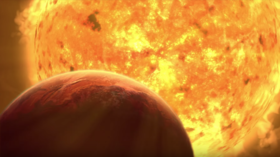WATCH the Sun eat the Earth in ESO's haunting visualization of the end of days