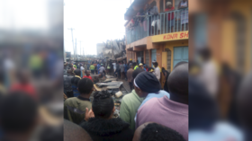 Scores feared trapped after 6-story building collapses in Kenya (PHOTOS, VIDEOS)