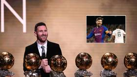 Golden balls on display! Lionel Messi to parade record SIXTH Ballon d'Or before Barcelona's game with Mallorca