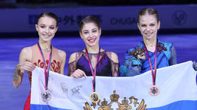 Kostornaia clinches figure skating GP Final crown with stellar performance & new WR as Russians sweep ladies' podium