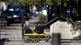 Swedish bomb squad robot defuses explosive device left outside pizzeria (PHOTOS)