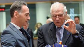 EU ministers discuss response to Turkey-Libya maritime border deal