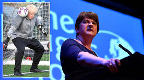 'Once bitten, twice shy': DUP's Arlene Foster claims BoJo 'broke his word' on Irish Sea customs border