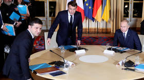 Russia's Putin meets Ukraine's Zelensky for the very 1st time at Paris summit