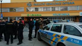 Shooting at Czech hospital leaves at least 6 killed, suspect on the run