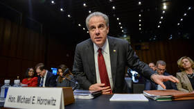 Justice Department chief  Horowitz slams FBI for 'serious errors' in Russiagate investigation