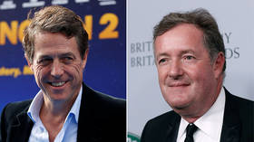 Piers Morgan & Hugh Grant feud rears its head as UK general election looms