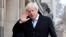 'Enjoy a celebration': Boris Johnson cheers projected landslide Tory win in UK general election