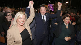 Irish nationalists win more seats than pro-British unionists in Northern Ireland FOR FIRST TIME EVER