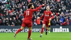 'World class!': Sensational Salah double maintains Liverpool's unbeaten start to Premier League season (VIDEO)