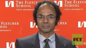 Truce for now? Sulmaan Khan, Denison chair of intl. history & diplomacy at the Fletcher School, Tufts University