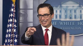 US Treasury chief applauds sanctions as ALTERNATIVE to military conflicts...but it hardly sits well with those sanctioned