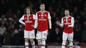 'Total shambles': Piers Morgan and fellow Arsenal fans lay into gutless Gunners as they capitulate at home to Manchester City