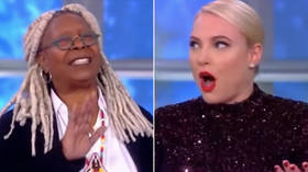 'Girl, stop talking right now': Whoopi shuts down interrupting Meghan McCain, internet celebrates (VIDEO)