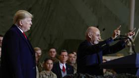 US special envoy visits Kabul as Iran blasts talks between Washington & Taliban