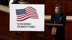 'Our beautiful flag & republic': Pelosi panders patriotically in impeachment debate kickoff, triggering Republican rage