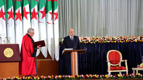 Algeria swears in Tebboune as new president, opposition debates response to offer of dialogue