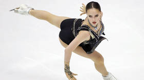 Anna Shcherbakova performs INSANE quad-jumping routine to win Russian figure skating championship (VIDEO)