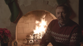 'Kill them with kindness': Kevin Spacey brings back Frank Underwood in puzzling Christmas message