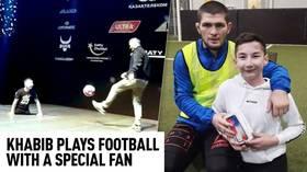 'Get on the podium, raise the Russian flag' – Khabib speaks on Russia's WADA ban (VIDEO)