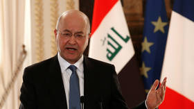 Iraqi president Salih refuses to name PM rejected by protesters