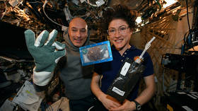 Cookie Monster's nightmare: Astronauts bake very first Christmas cookie aboard ISS… but won't be able to eat it