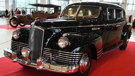 Stalin's limo, worth $2.8 million, was stolen in Moscow by crew of 6 with tow truck