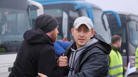 New Year's swap: Dozens head home as Ukraine & breakaway Donbass conduct 'all for all' prisoner exchange