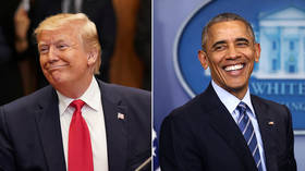 Trump tied with Obama for 'most admired man' of the year