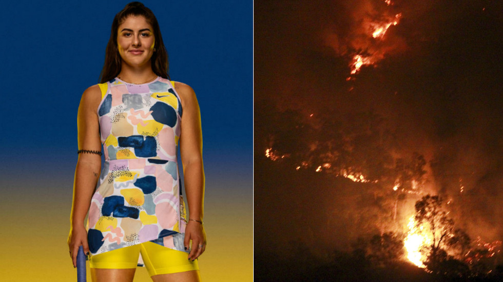 Fiery Conditions Nike Changes Australian Open Outfit Ad