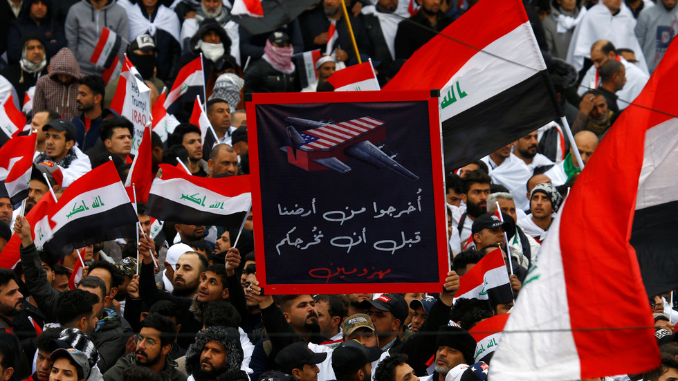 'Million-Man March' kicks off in Baghdad to demand US troop pullout (VIDEO, PHOTOS)