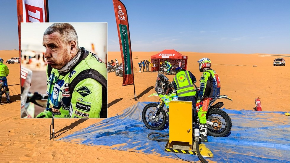 Dutch motorcyclist Edwin Straver becomes second rider to die at 2020 Dakar Rally