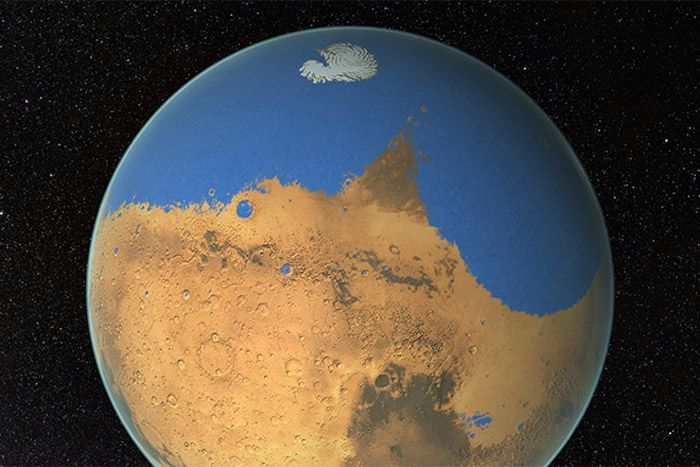 Water mysteriously disappearing from Mars' surface, scientists confirm