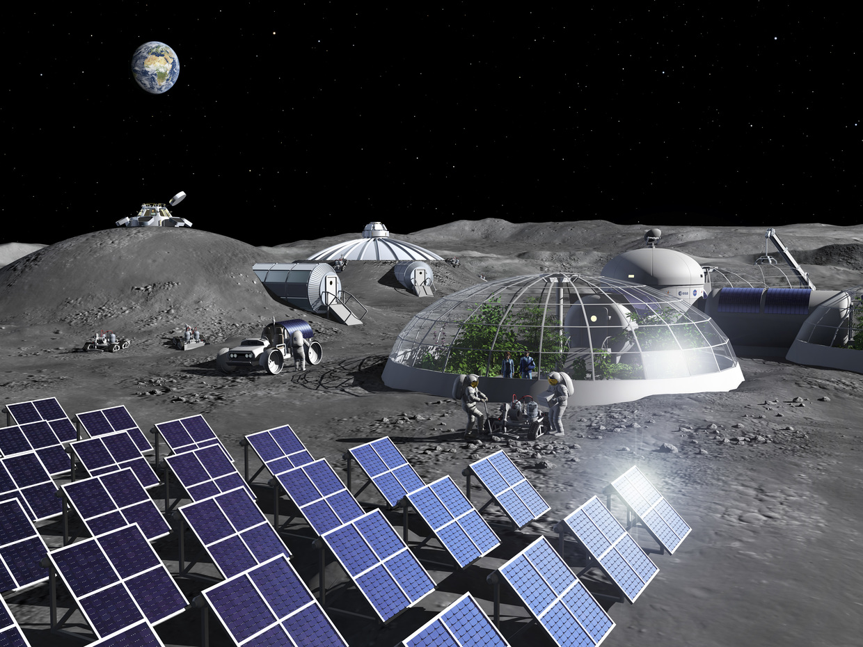 ESA facility begins producing oxygen out of simulated moondust