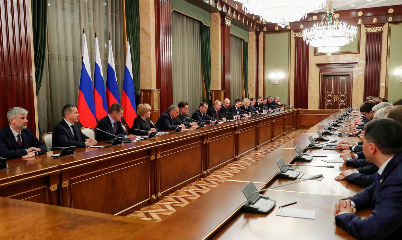 Russian government resignation news