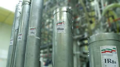 Centrifuges at Natanz nuclear power plant, some 300 kilometres south of Iranian capital, Tehran. © AFP / Atomic Energy Organization of Iran