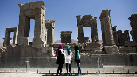 The ancient Persian city of Persepolis in southern Iran © AFP / Behrouz Mehri