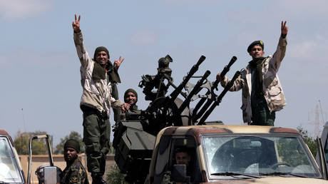 Members of the Libyan National Army