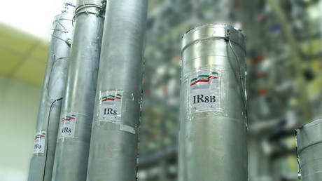 FILE PHOTO The IR-8 centrifuges at Natanz nuclear power plant in Iran. © AFP / Atomic Energy Organization of Iran