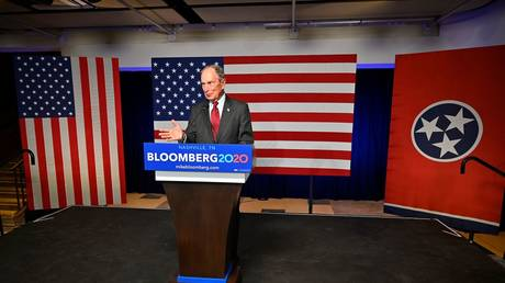 Democratic presidential candidate Bloomberg opens Tennessee campaign HQ © Reuters / HARRISON MCCLARY