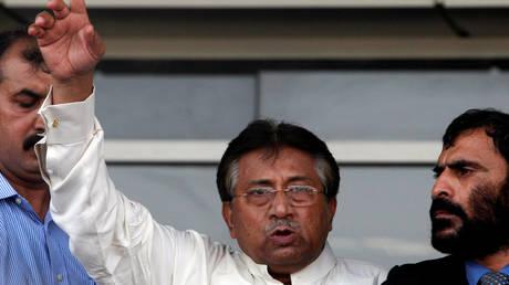FILE PHOTO: Pakistan's former President Pervez Musharraf
