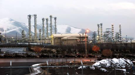 A general view of the water facility at Arak, Iran ©  AFP / ISNA / HAMID FOROUTAN