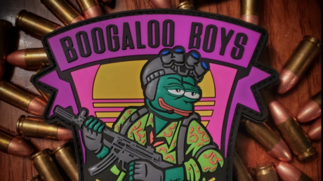 Boogaloo Boys patch