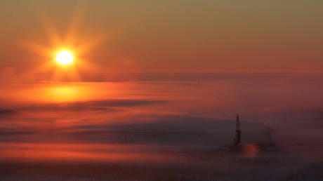 FILE PHOTO: Rosneft's Vankor oil field in eastern Siberia, Russia © Reuters / Sergei Karpukhin