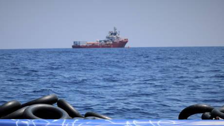 The migrant rescue ship 'Ocean Viking'. © Reuters / Hannah Wallace Bowman / MSF