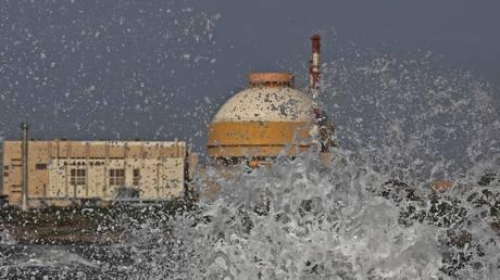 Kudankulam nuclear power project plant © REUTERS/Adnan Abidi