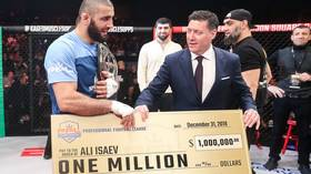 WATCH: Russia's Ali Isaev smashes his way to $1 MILLION with victory at PFL Championship in New York