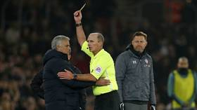 'I was rude, but I was rude to an idiot': Spurs boss Mourinho cracks up internet after being yellow-carded in Southampton defeat